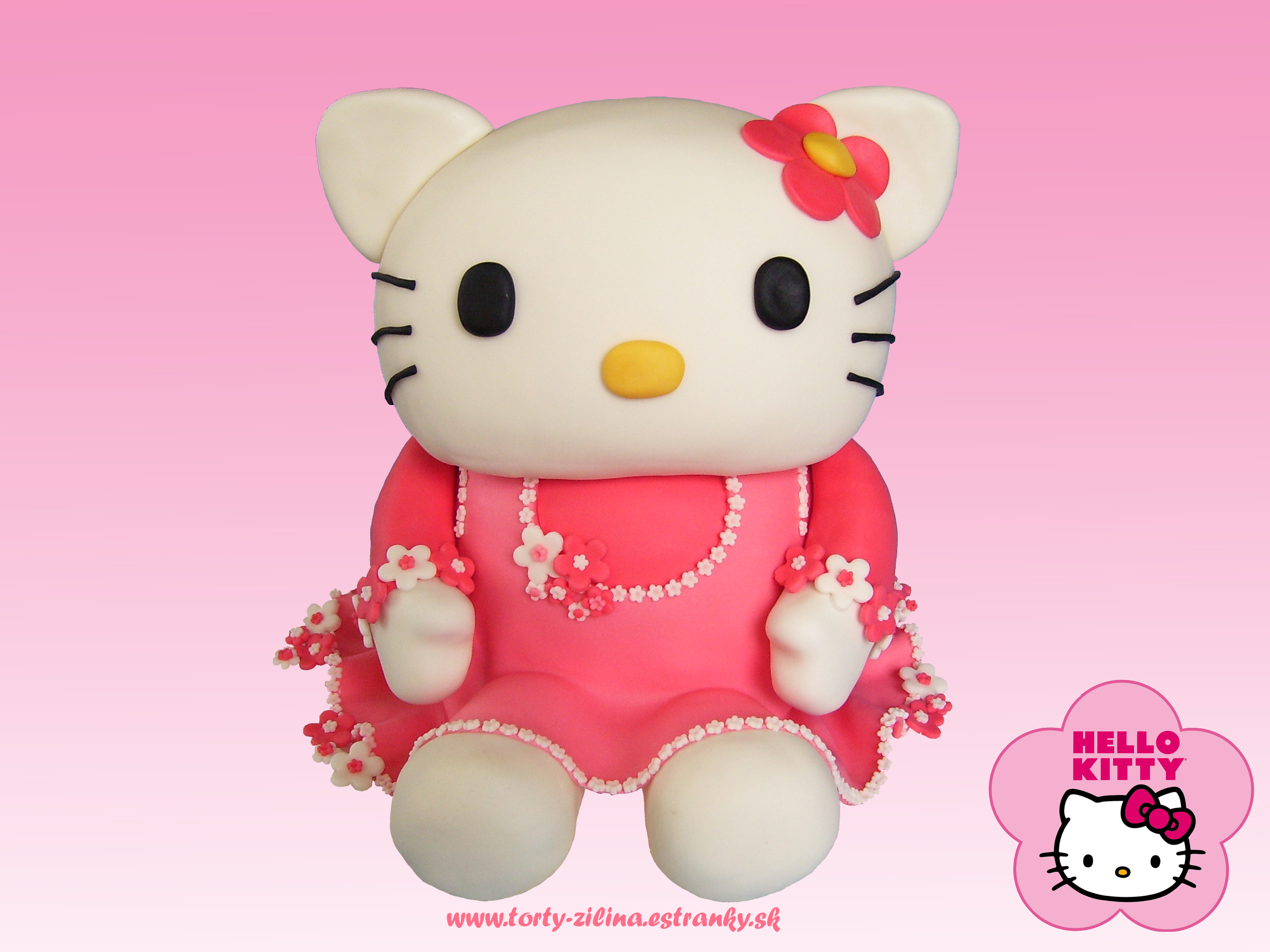3D torta Hello Kitty